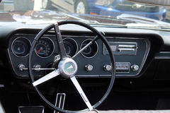 Classic pontiac gto interior Stock Photo
