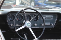 Classic pontiac interior Royalty Free Stock Photos