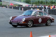 Classic Porsche 911 Carrera racing Royalty Free Stock Photo