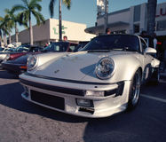 Classic Porsche 911 at a car show Stock Photography
