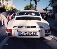 Classic Porsche 911 at a car show Royalty Free Stock Photo