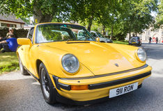 Classic Porsche 911 Carreras Royalty Free Stock Photos