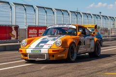 Classic Porsche 911 race car Stock Images