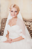 Classic portrait of the bride Royalty Free Stock Images