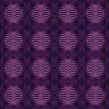 Classic purple ornament Royalty Free Stock Photos