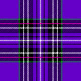 Classic purple tartan Stock Photography