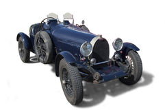 Classic race car. Classic Bugatti race car from the thirties. Type 35 Royalty Free Stock Photos