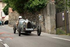 Classic race car at Bergamo Historic Grand Prix 2015 Royalty Free Stock Image