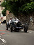 Classic race car at Bergamo Historic Grand Prix 2015 Royalty Free Stock Images
