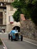 Classic race car at Bergamo Historic Grand Prix 2015 Royalty Free Stock Images
