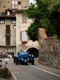 Classic race car at Bergamo Historic Grand Prix 2015 Stock Photo