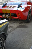 Classic race car at the 74th members meeting practice day at Goodwood motor circuit. Stock Photo