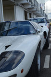 Classic race car at the 74th members meeting practice day at Goodwood motor circuit. Stock Photos