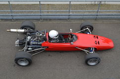 Classic race car at the 74th members meeting practice day at Goodwood motor circuit. Royalty Free Stock Photography