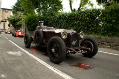 Classic race cars at Bergamo Historic Grand Prix 2015 Stock Photo