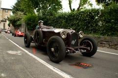 Classic race cars at Bergamo Historic Grand Prix 2015 Stock Photo
