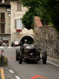Classic race cars at Bergamo Historic Grand Prix 2015 Royalty Free Stock Photo