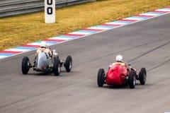 Classic racing cars Stock Image