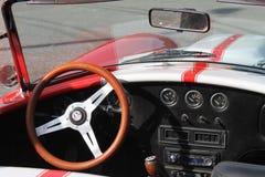 Classic racing sportscar Stock Photos