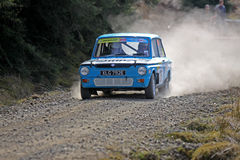 Classic Rally Car Royalty Free Stock Photo