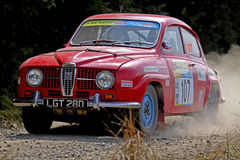 Classic Rally Car Stock Image