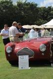Classic rare 1940s british sporst car Royalty Free Stock Photos