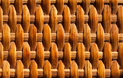 Classic rattan surface Royalty Free Stock Photography