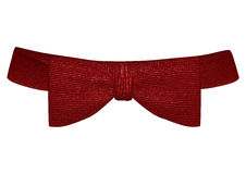 Classic Red Bowtie Royalty Free Stock Images