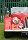 Classic Red Car Royalty Free Stock Photos