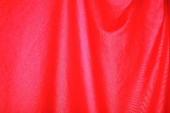 Classic red curtain. In theater Royalty Free Stock Images