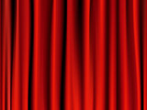 Classic red curtain Royalty Free Stock Photo