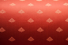 Classic red fabric texture Stock Photography