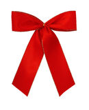 Classic red giftbow Stock Image