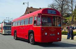 Classic Red London Transport Bus Stock Images