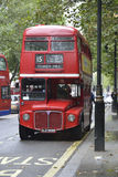 Classic Red Routemaster in Lonon Royalty Free Stock Photos