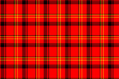 Classic red tartan Stock Images