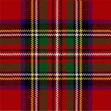 Classic red tartan Royalty Free Stock Image
