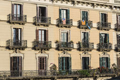 Classic residential building, Barcelona Royalty Free Stock Photo