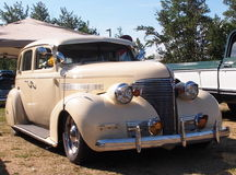 Classic Restored Beige Chevrolet Royalty Free Stock Photos