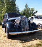 Classic Restored Black Dodge Stock Photos