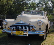 Classic Restored 1947 Buick Convertible Royalty Free Stock Photo