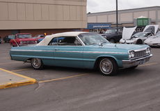 Classic Restored 1964 Chevrolet Convertible Stock Images