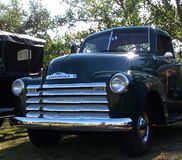 Classic Restored Chevrolet Truck Stock Photo