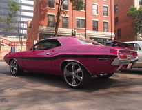 Classic Restored Dodge Challenger Stock Image