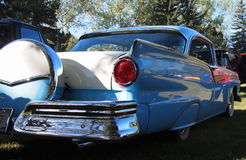 Classic Restored Ford Fairlane With Spare Tire Carrier Royalty Free Stock Photo