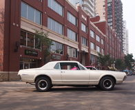 Classic Restored Mercury Cougar Royalty Free Stock Photography