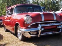 Classic Restored Pontiac Station Wagon Royalty Free Stock Photos