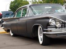 Classic Restored Sedan With Ornate Grill Stock Photo