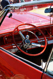 Classic retro car details Royalty Free Stock Image