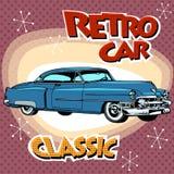 Classic retro car Stock Photos